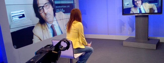 Quarantena live,il film del regista Giuseppe Aquino