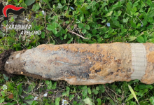 Montoro  Bomba della II Guerra Mondiale ritrovata in campagna, zona delimitata in attesa della rimozione