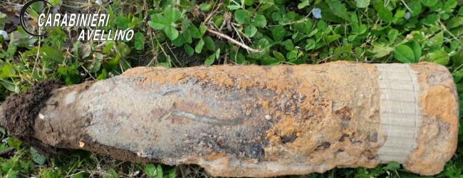 Montoro| Bomba della II Guerra Mondiale ritrovata in campagna, zona delimitata in attesa della rimozione
