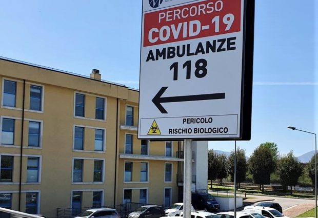 Avellino| Covid Hospital, deceduto 74enne di Cervinara. Al Moscati 55 positivi