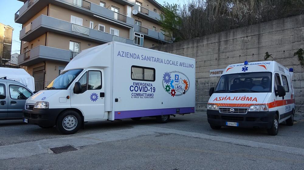 Scuola e vaccini anti-covid: Camper della Salute a Cervinara, Sant'Angelo dei Lombardi e Lioni