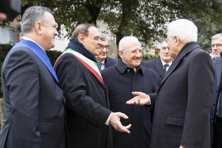 Benevento  Il Presidente Di Maria riapre il Museo del Sannio