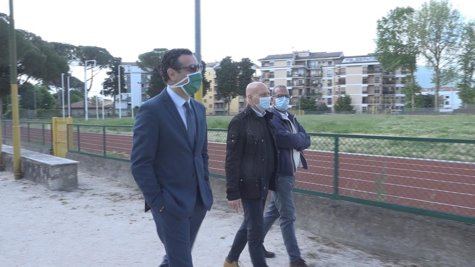 Avellino| Mercato, Festa: io avrei già aperto Campo Genova. Coni riaperto, ora tocca a Parco Santo Spirito