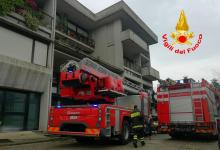 Atripalda| Fiamme in un appartamento, intervento dei vigili del fuoco