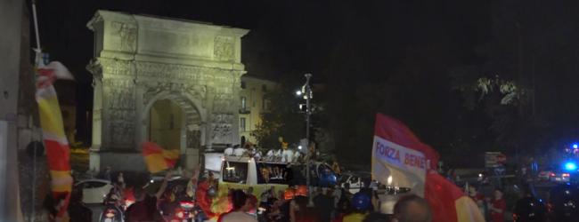 La storiA si ripete: il Covid non ferma la festa del Benevento Calcio