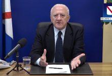 Coronavirus, De Luca chiede al Governo il lockdown totale: la Campania si muoverà in questa direzione