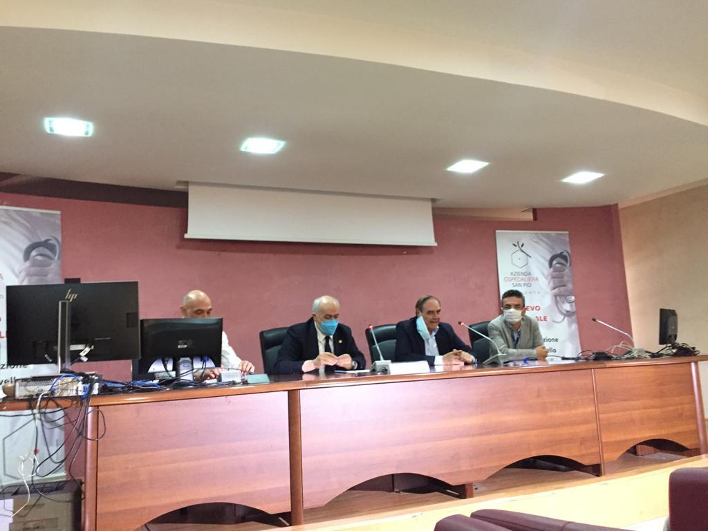 """Benevento  """"ImmunoCovid"""" presentato al San Pio il test sierologico made in Sannio"""