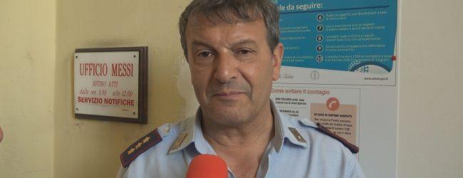 """Benevento  Zona gialla, il comandante Bosco: """"Non si tratta di un rompete le righe"""""""