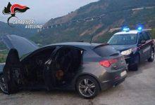 Calitri| Tentano il colpo al bancomat della Popolare di Bari e bruciano l'auto per coprire la fuga