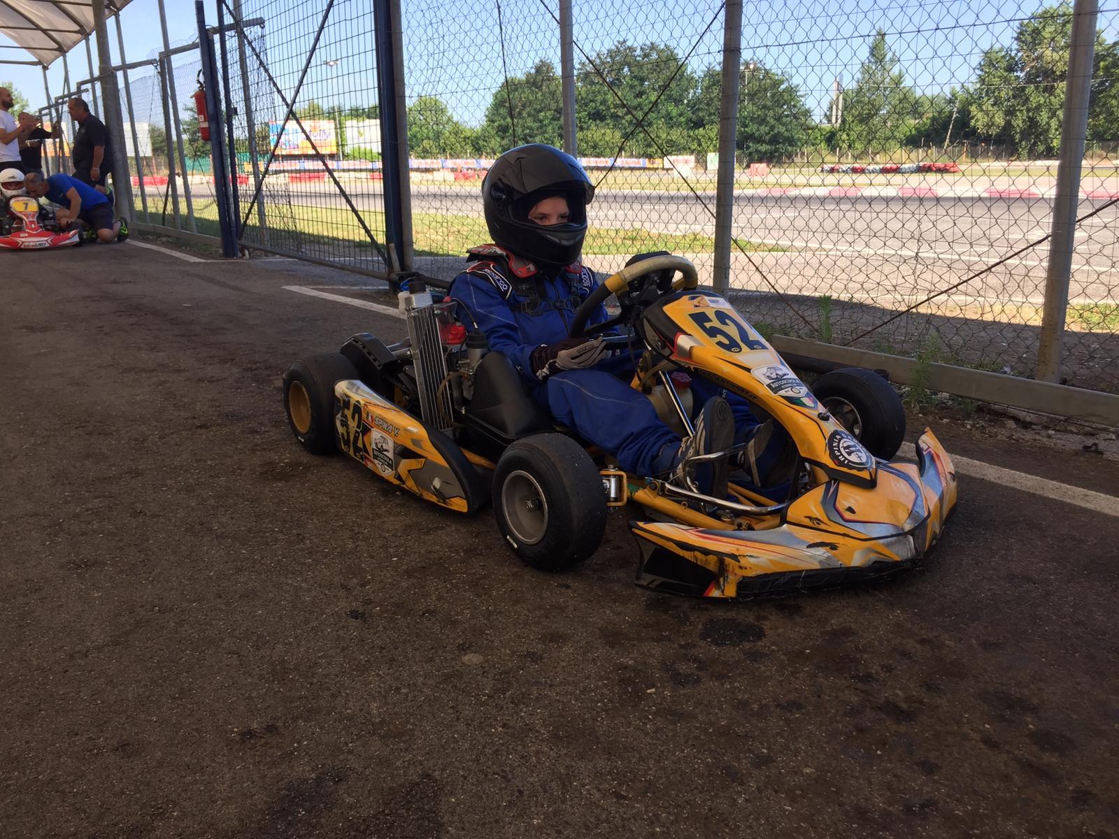 Campionato regionale Kart: seconda vittoria stagionale per Vincenzo Spina, il giovanissimo talento irpino