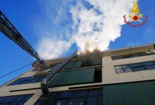 Solofra| Incendio in una conceria, nessun ferito/FOTO
