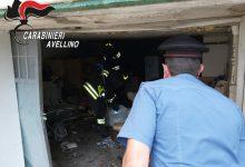 Castel Baronia| Esplosione in un garage: nessun ferito, solo un grande spavento tra i residenti