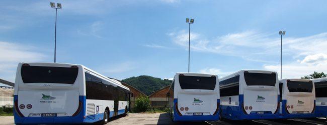 Dalla Regione 8 nuovi autobus all'Air, saranno utilizzati sul circuito extraurbano