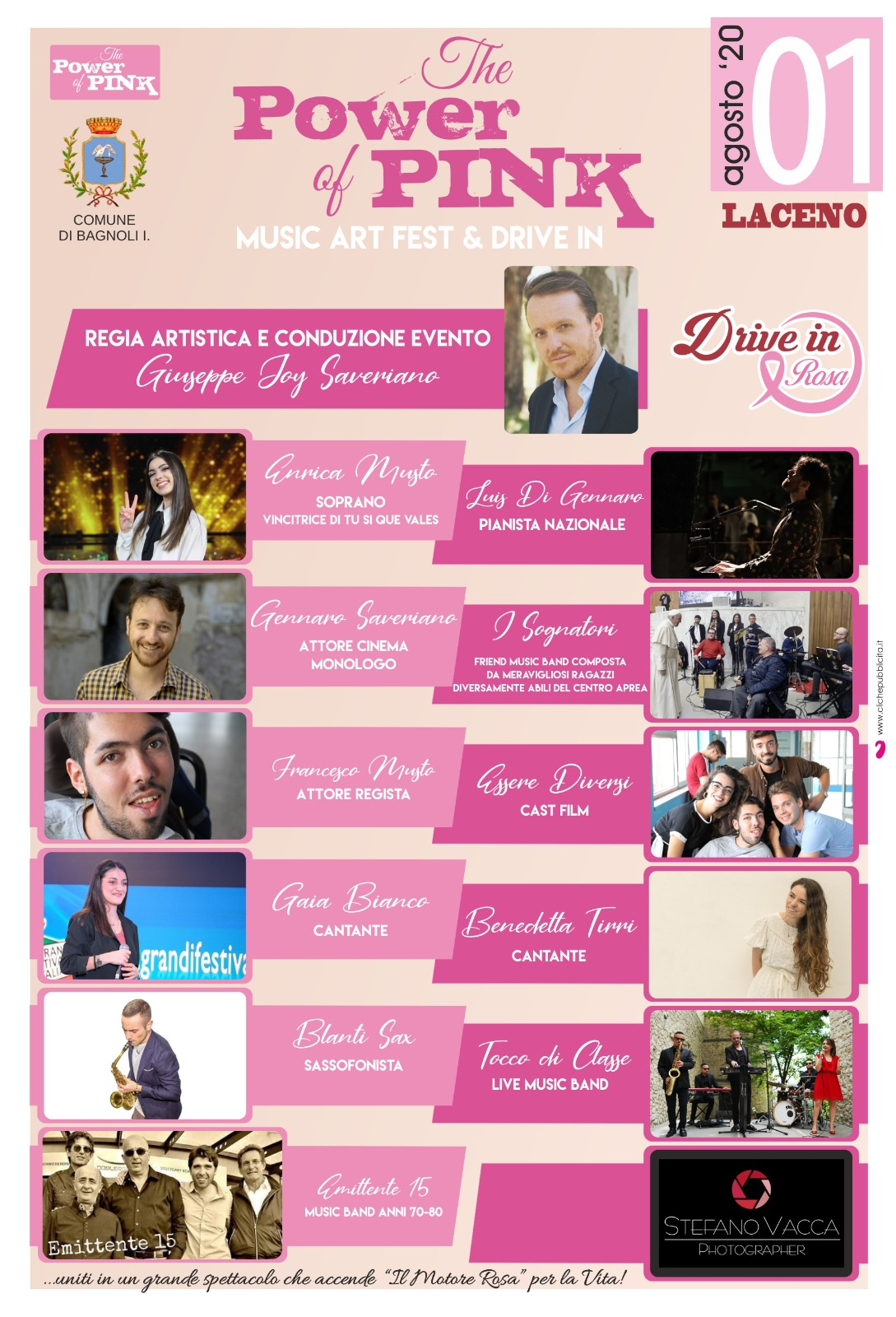 """The Power of Pink"": sabato 1 Agosto il 'Drive In Rosa'"