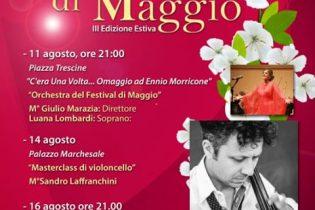 Cervinara| 'Festival di Maggio', due appuntamenti con la musica