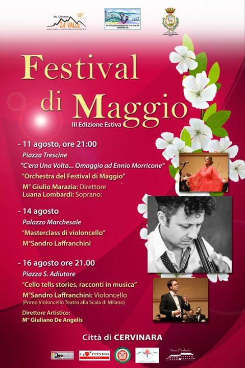 Cervinara  'Festival di Maggio', due appuntamenti con la musica