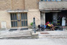 Benevento| Fiamme in un garage del quartiere Capodimonte, intervento dei vigili del fuoco