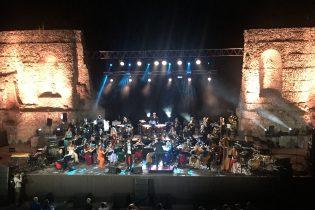 Benevento| Max Gazzè e l'OFB scrivono una nuova poesia al Teatro Romano