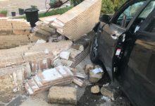 Benevento  Auto contro muro, denunciato per guida in stato di ebrezza il 35enne conducente