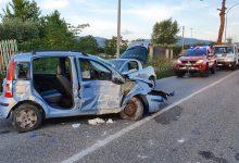 Calvi  Incidente sull'Appia:tre feriti