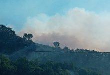 Guardia Sanframondi| Brucia la montagna, intervengono gli elicotteri dei Vigili del Fuoco