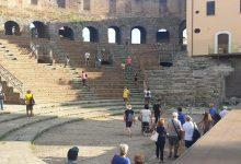 Benevento  Teatro Romano: tanti visitatori nel mese di Agosto