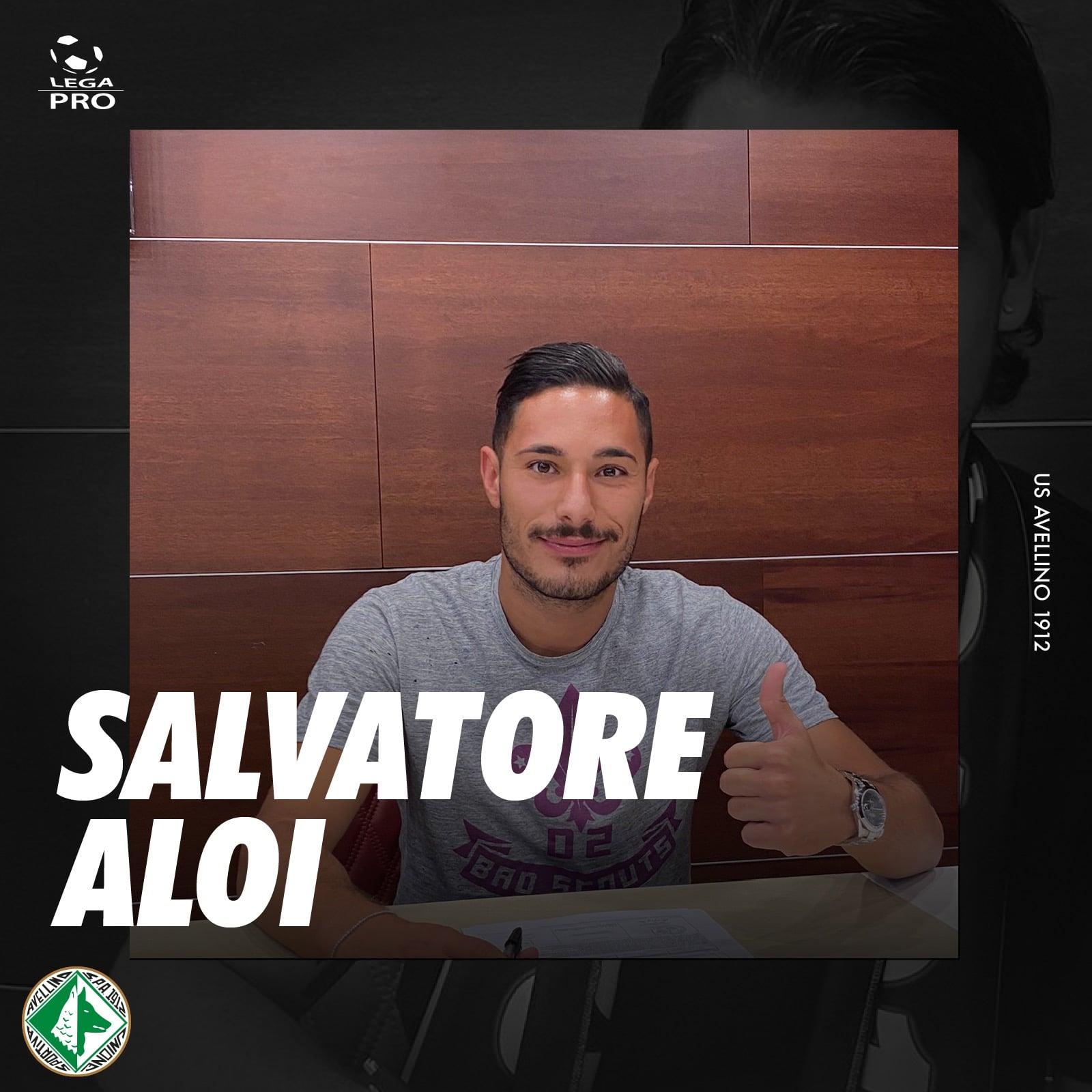 US Avellino, firma il centrocampista Aloi