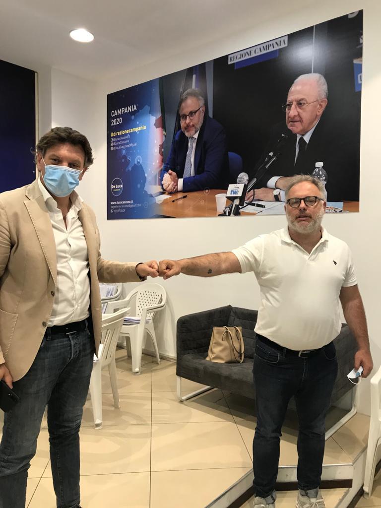 """Raffaele Del Vecchio incontra Cascone: """"Trasporti al centro nella mia azione amministrativa"""""""