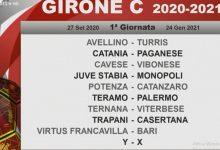 Calendari Serie C, l'Avellino inizia con un derby