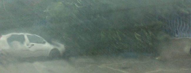 Grandine e raffiche di vento: è arrivato l'autunno nel Sannio