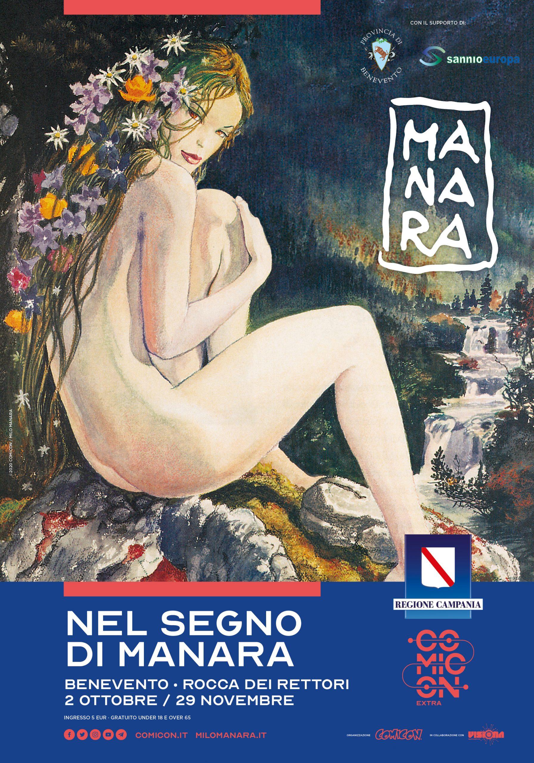 Benevento  Alla Rocca dei Rettori la mostra antologica 'Nel Segno di Manara'