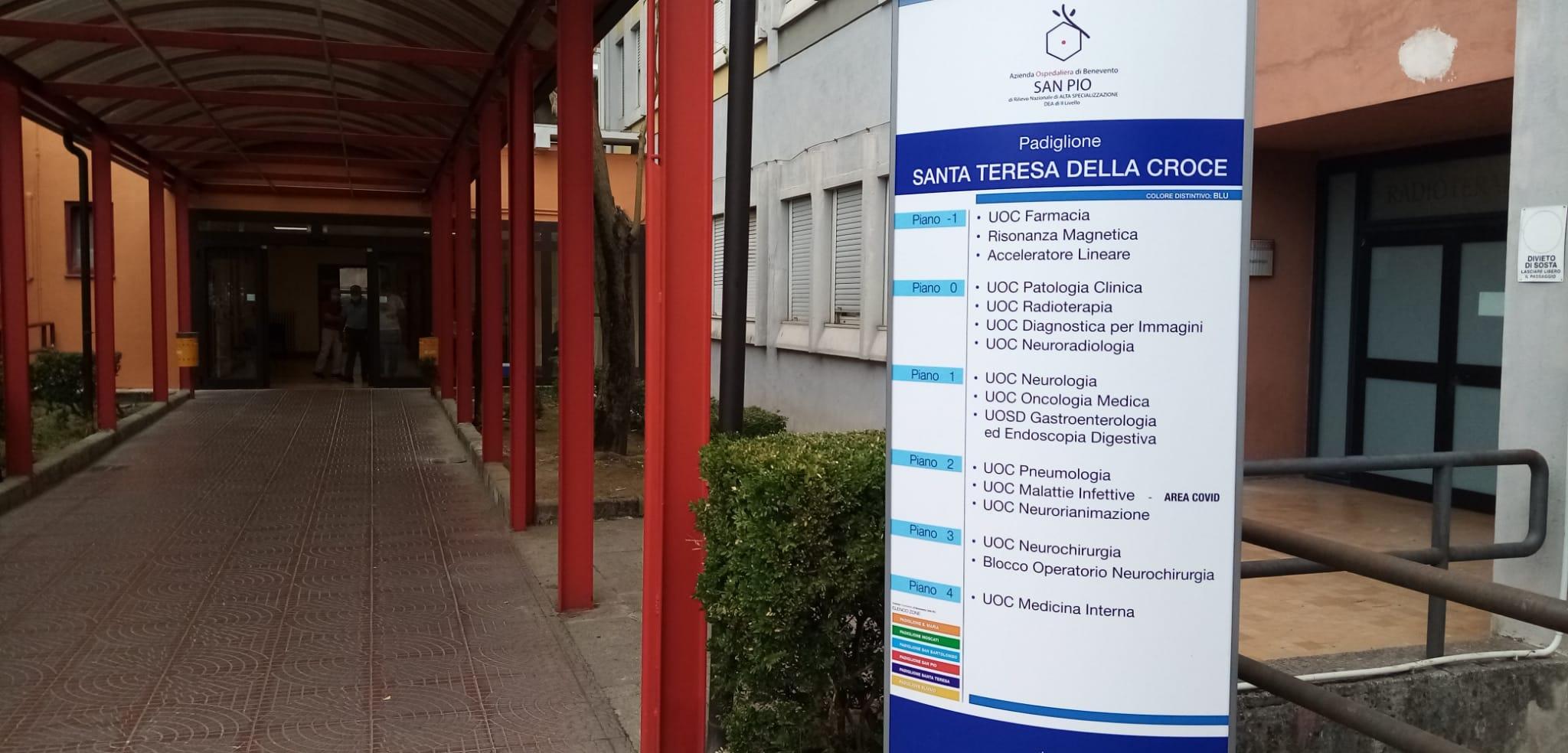 """Covid, un altro paziente dimesso: al """"San Pio"""" ricoverate 5 persone"""