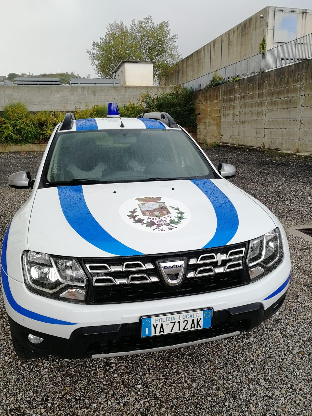 Ponte| Ecco il SUV per la Polizia Municipale