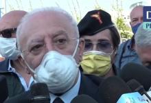 """Covid, De Luca: """"RIpartizione in zone? Cose demenziali"""". E sui vaccini: """"Entro luglio 4 mln dosi somministrate """""""