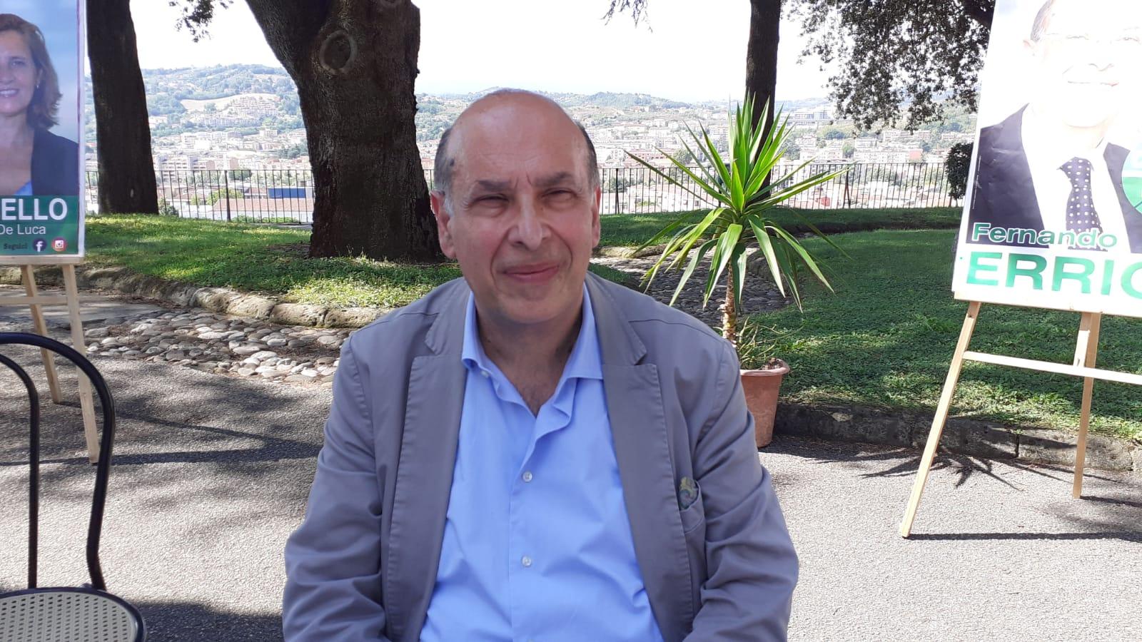 """Fernando Errico: """"Aumentate le dosi di vaccino per la Campania. Avanti in sinergia tra Governo e Regione"""""""