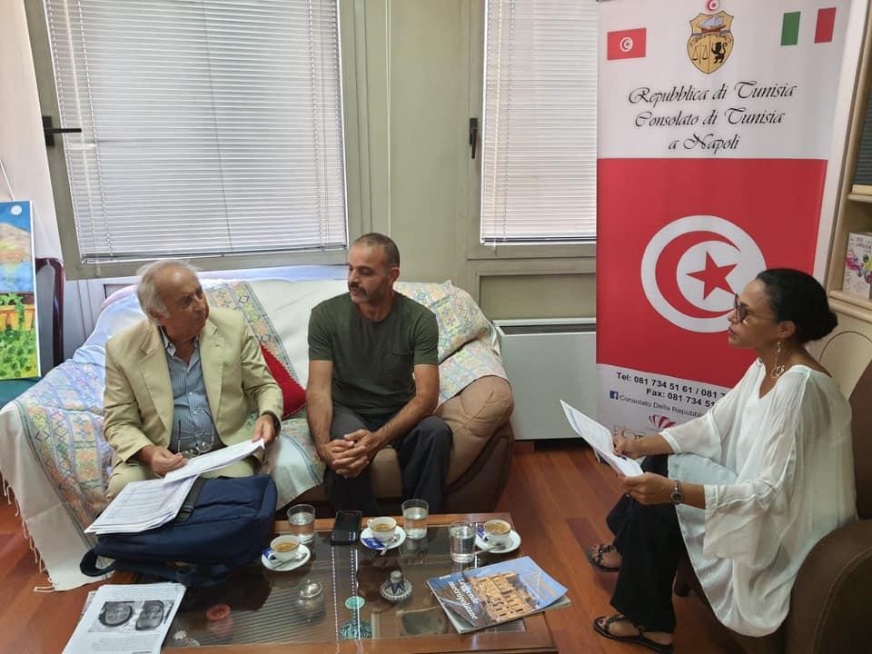 Il Console della Repubblica di Tunisia a Napoli e il progetto Surefish