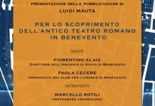 Benevento| Giornate Europee del Patrimonio, all'Archivio di Stato la pubblicazione di Luigi Mauta 'Lo scoprimento del Teatro Romano'