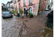 Il maltempo flagella l'Irpinia, frana a Monteforte: centro storico invaso dal fango