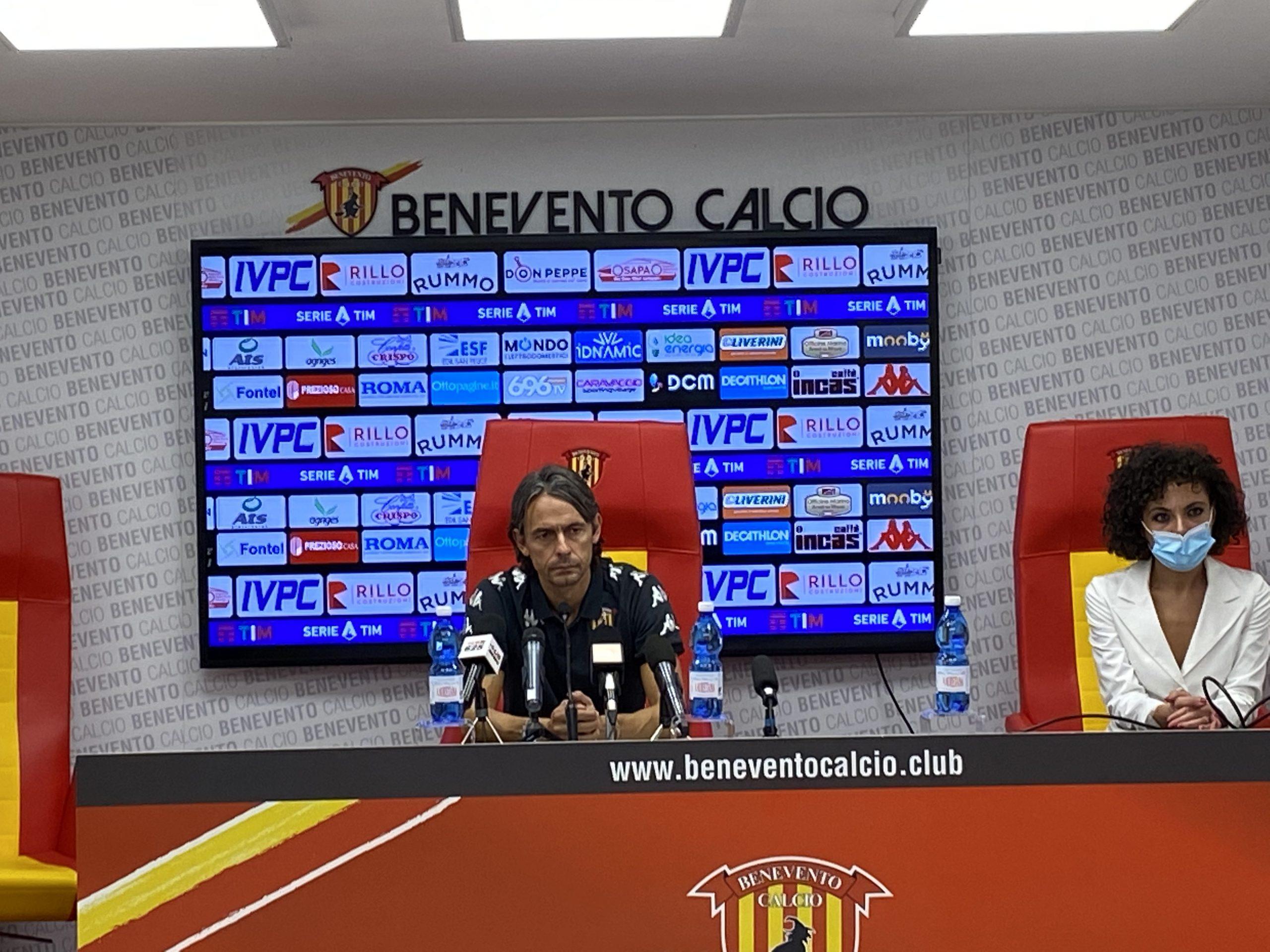 """Benevento, Inzaghi: """"A Parma partita importante. Centrocampo? Qualcosa mi inventerò"""""""