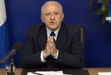"""Covid-19, De Luca: """"Noi pronti a chiudere ad ottobre, errore del Governo"""""""