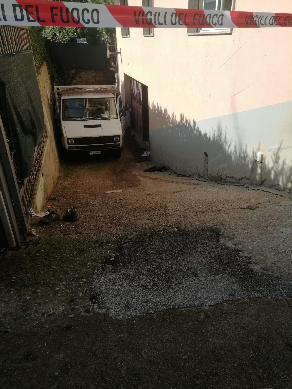 San Giorgio del Sannio| Deceduto il 67enne travolto dal furgone