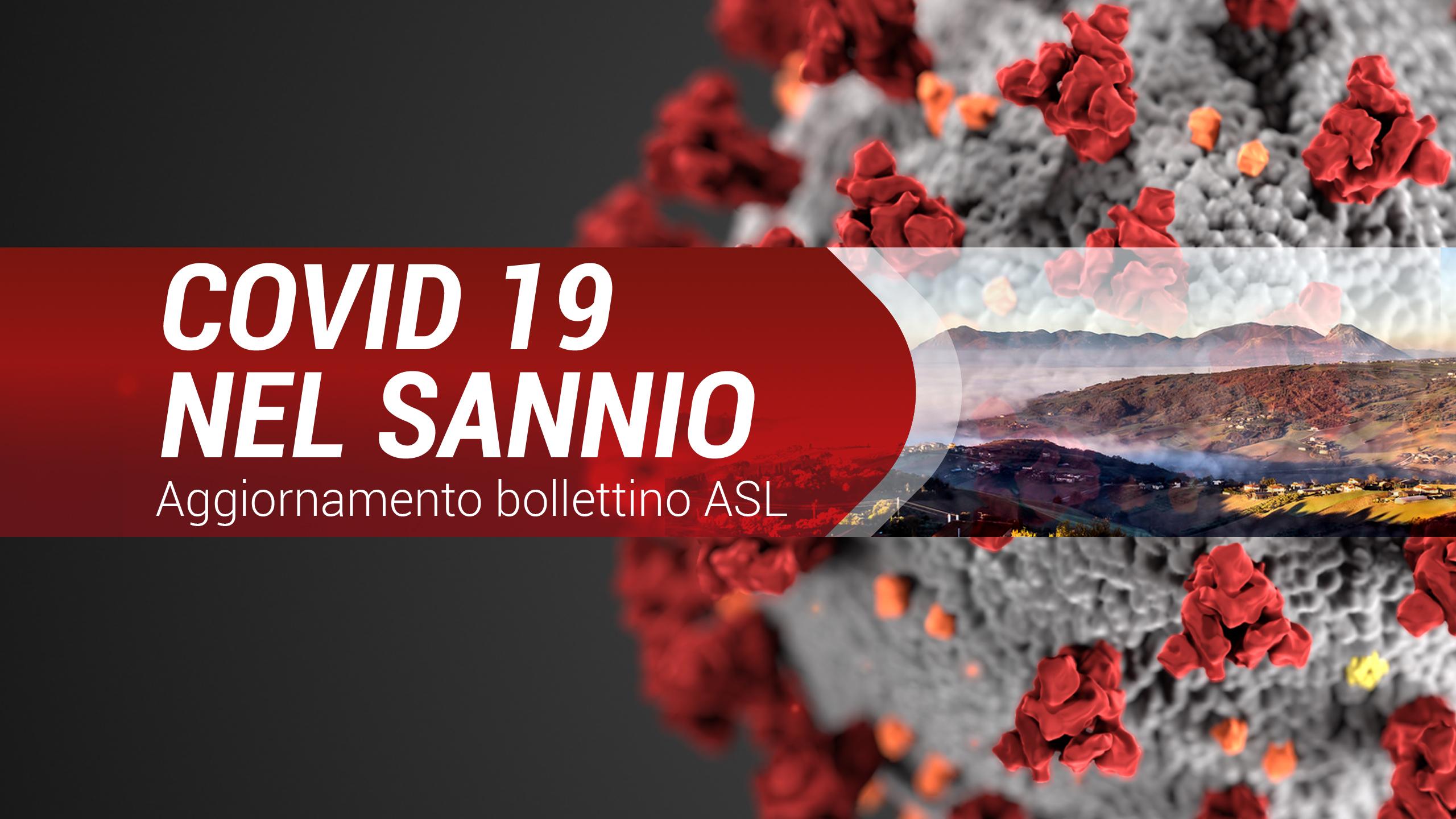 Covid-19, nel Sannio 37 nuovi positivi e 89 guariti