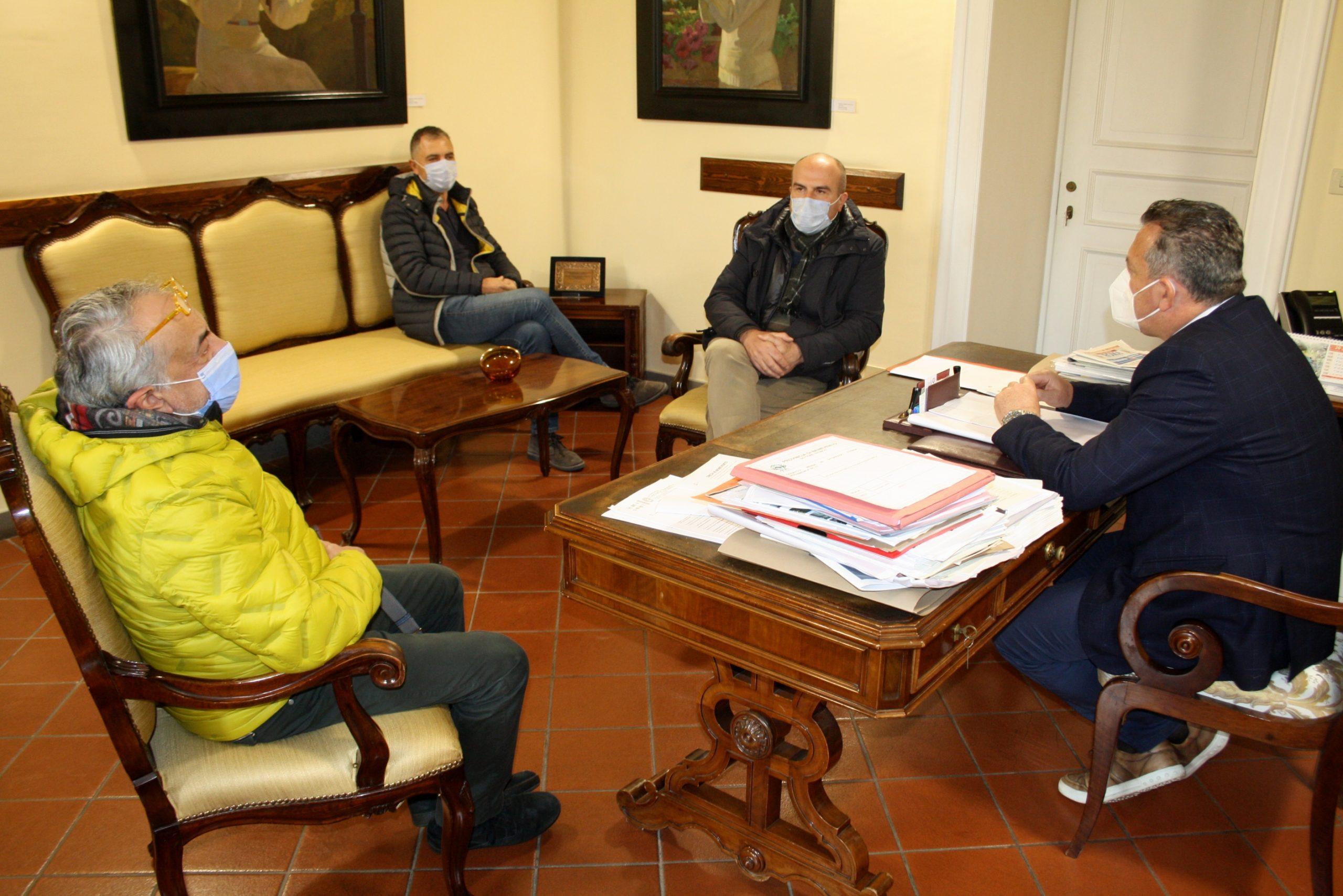 Riunione in Provincia sulle opere pubbliche per Foiano di Valfortore