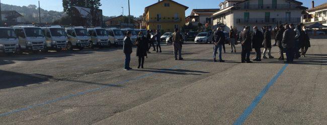 Benevento| Rifiuti: Asia, presentata la flotta dei nuovi automezzi