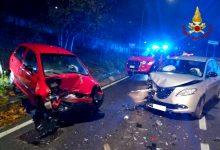 Avellino| Scontro tra due auto sulla strada che porta a Picarelli, feriti i conducenti