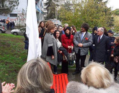 A Benevento un'altra panchina rossa contro la violenza sulle donne