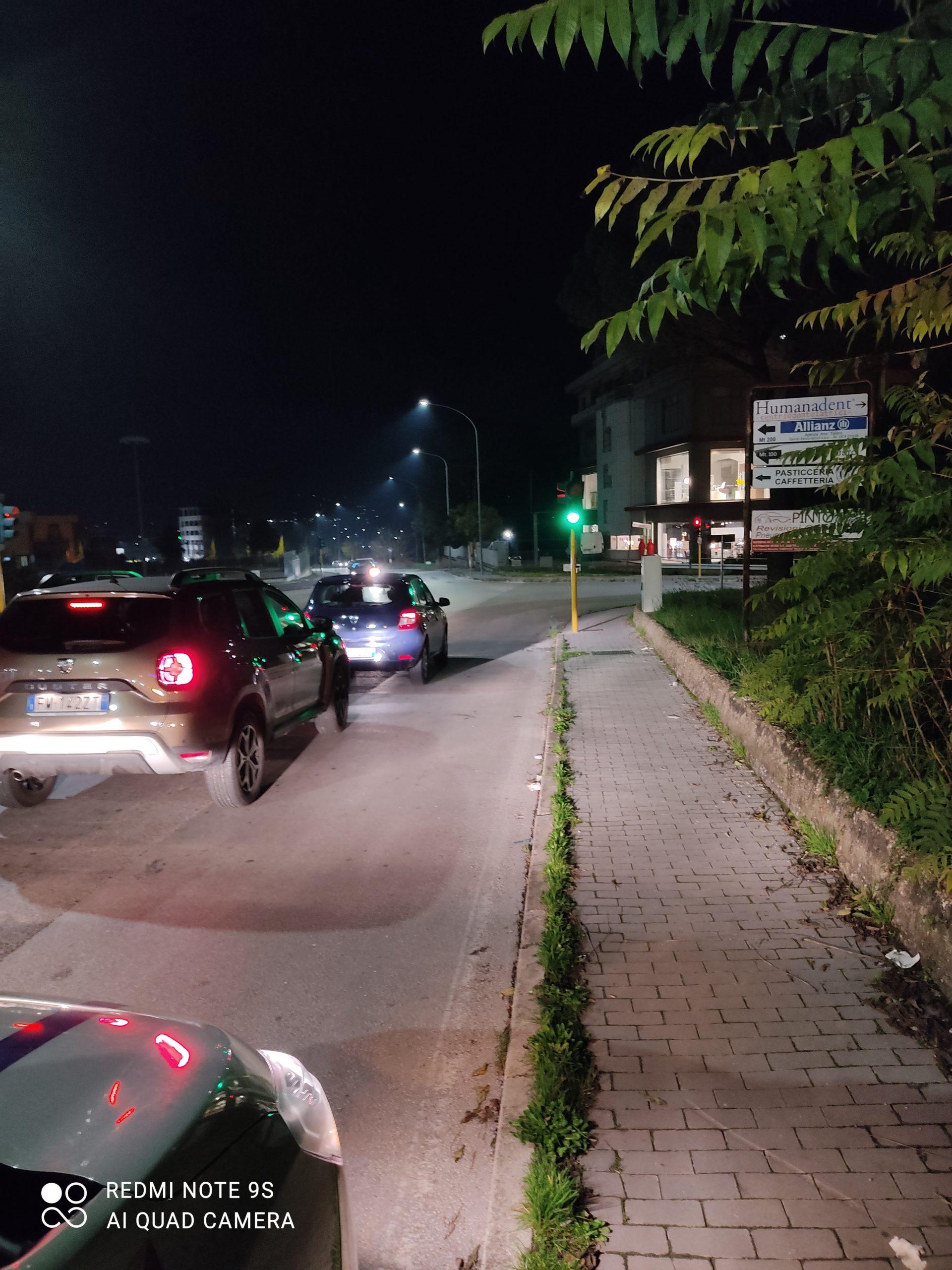 Benevento| Municipale: riparato il guasto al semaforo del Mc Donald's