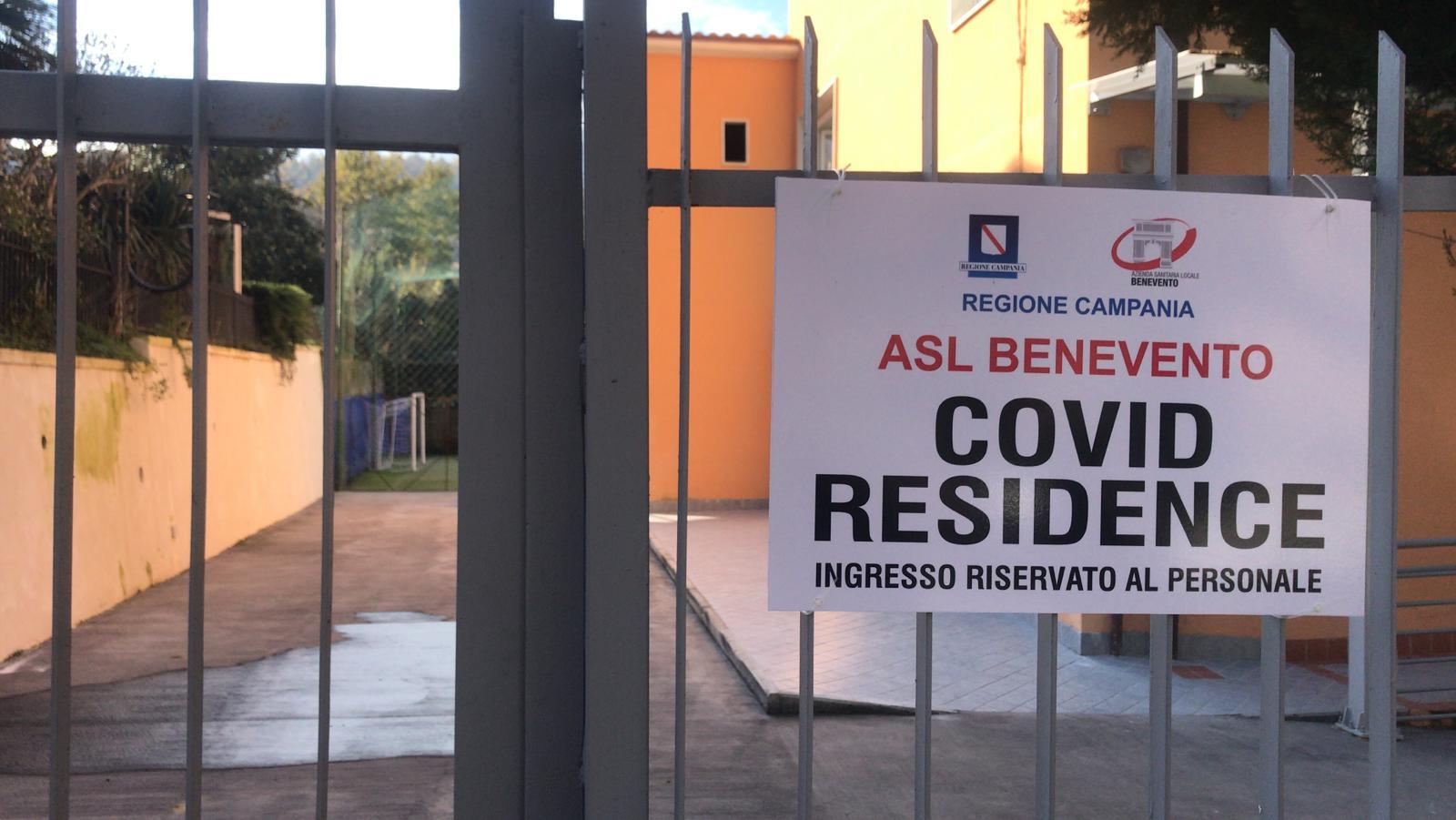 """Ecco il """"Covid Residence"""", ad Arpaise la struttura per pazienti asintomatici"""