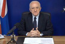 """De Luca: """"Il 12 gennaio esercitazione generale vaccini in tutta la Campania"""". Novità sulla mobilità durante le feste"""