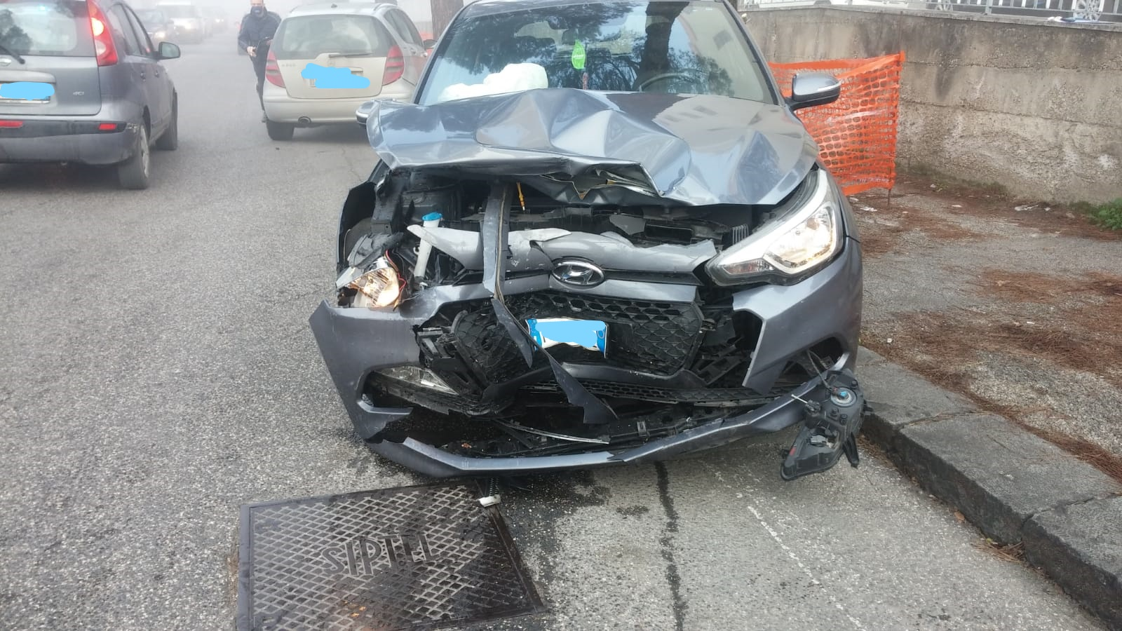 Benevento| Scontro tra due auto, due feriti